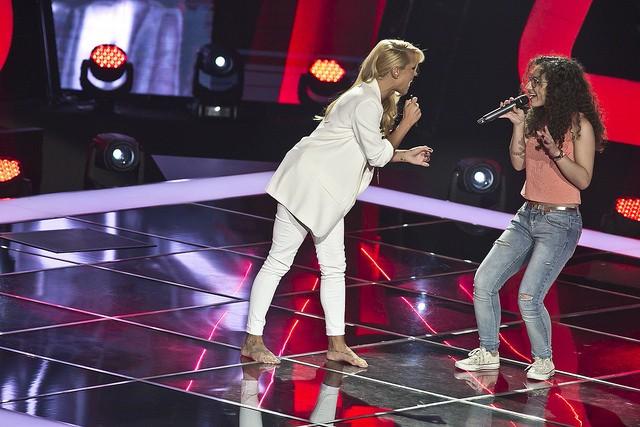 A jovem cantou com Aurea, mas escolheu Anselmo como mentor