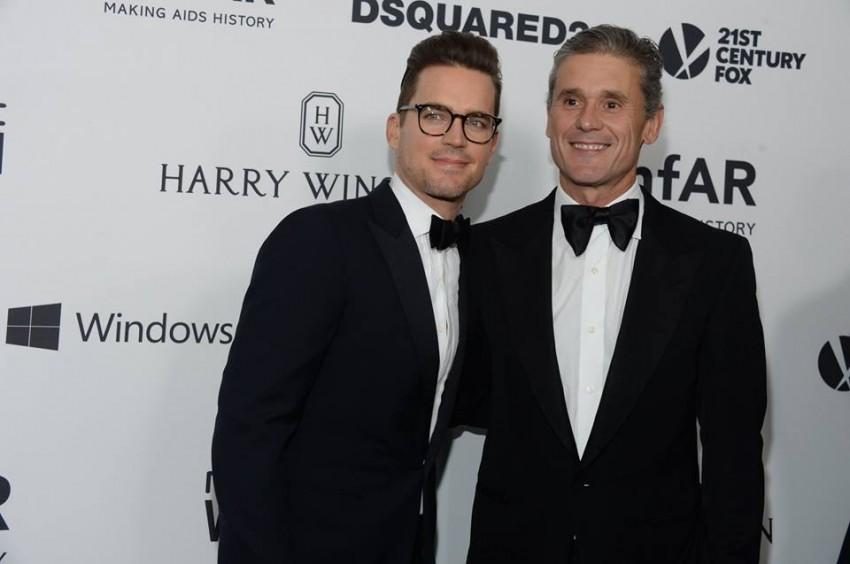 Matt Bomer e Simon Halls