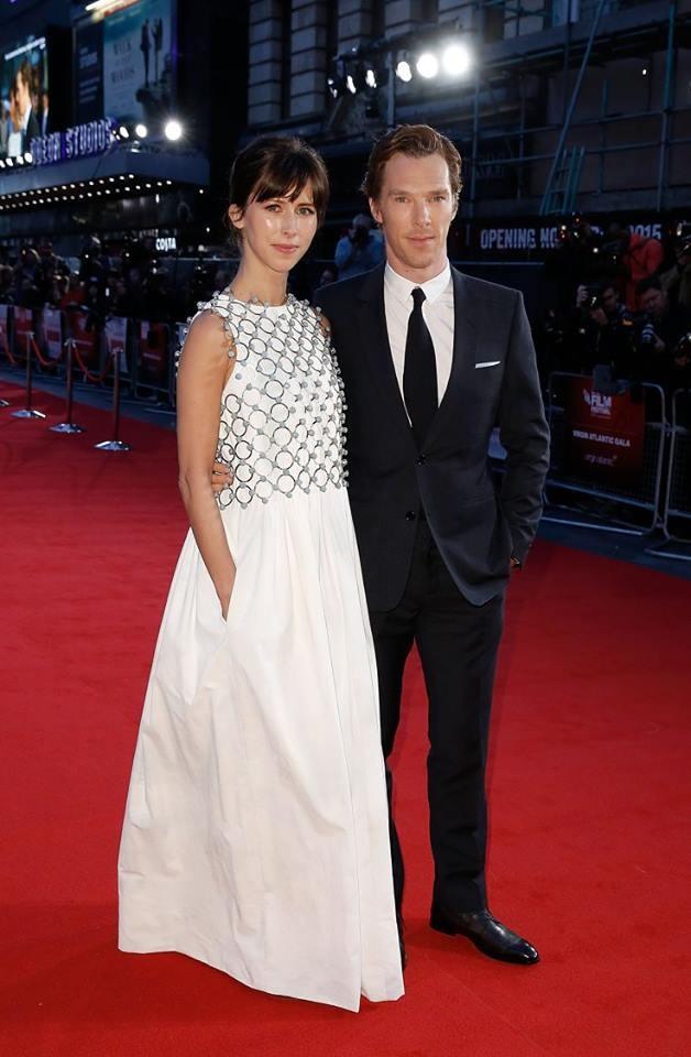 enedict Cumberbatch e Sophie Hunter