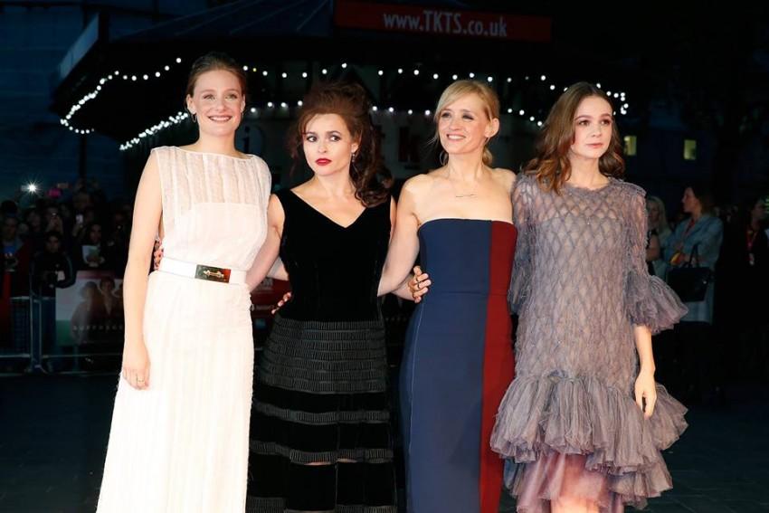 Romola Garai, Helena Bonham Carter, Anne-Marie Duff e Carey Mulligan