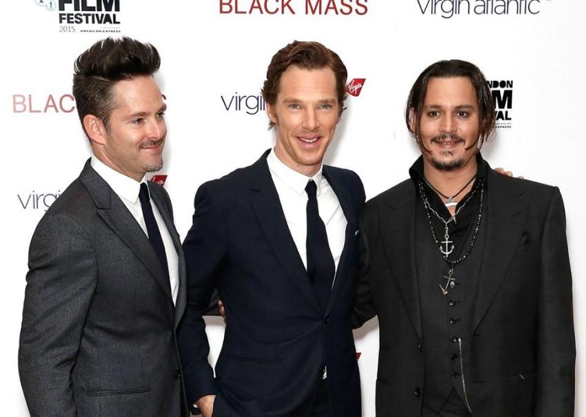 Scott Cooper, Benedict Cumberbatch e Johnny Depp