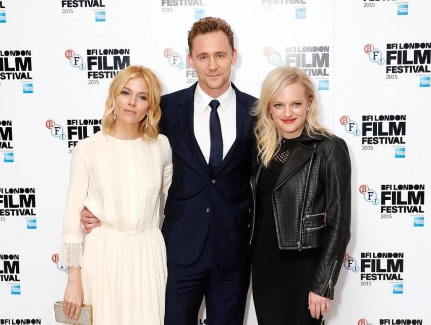 Sienna Miller, Tom Hiddleston e Elisabeth Moss