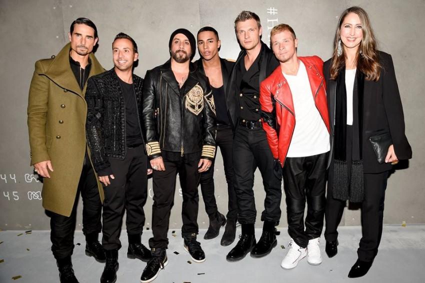 Backstreet Boys, Olivier Rousteing e Ann-Sofie Johansson