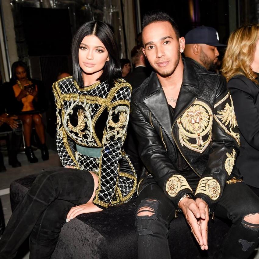 Kylie Jenner e Lewis Hamilton