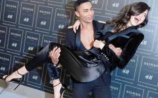 H&M Balmain Olivier Rousteing e Kendall Jenner