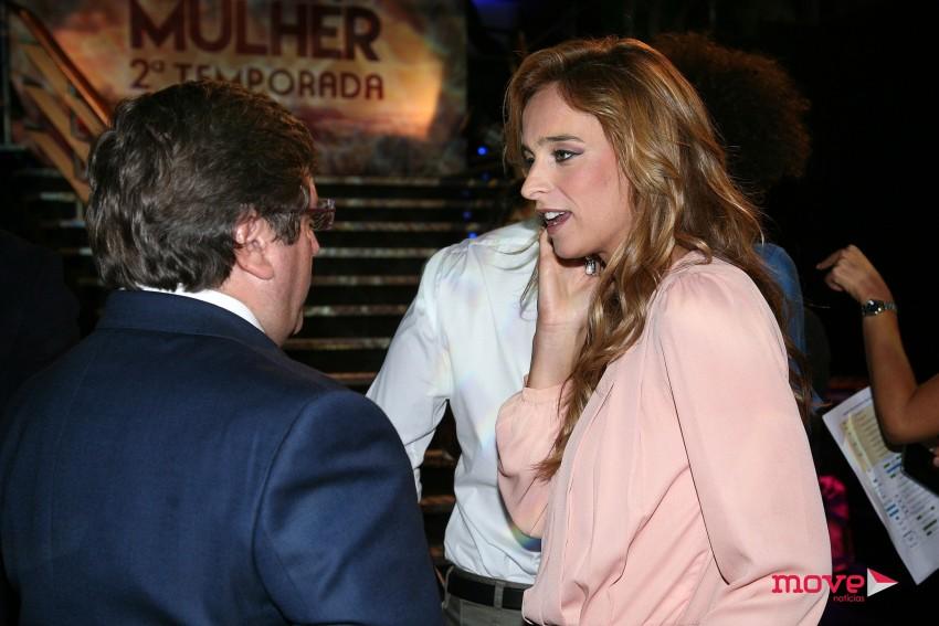 Sara Prata à conversa com Luís Cunha Velho, diretor da TVI