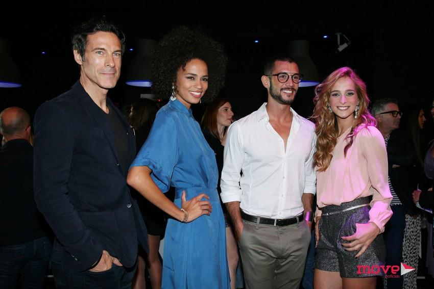 Paulo Pires, Ana Sofia Martins, Pedro Barroso e Sara Prata