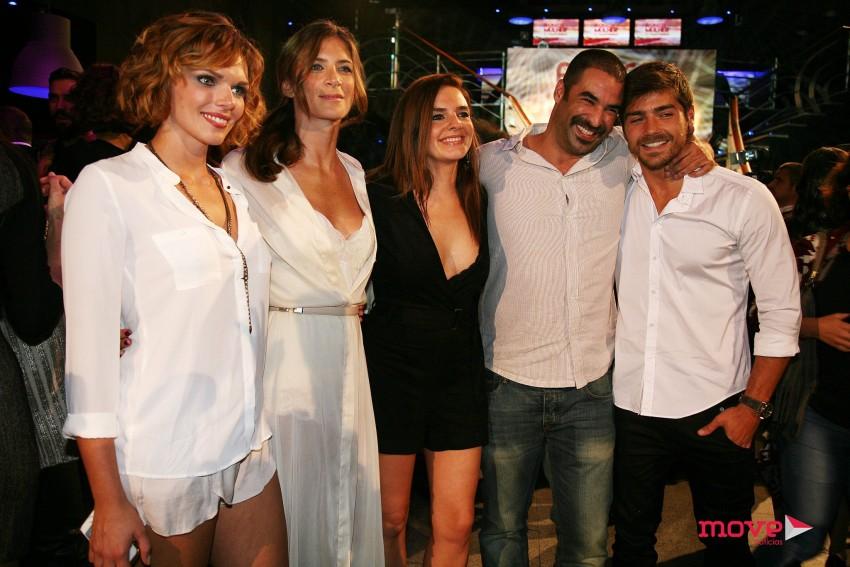 Joana Câncio, Matilde Breyner, Leonor Seixas, João Catarré e Lourenço Ortigão