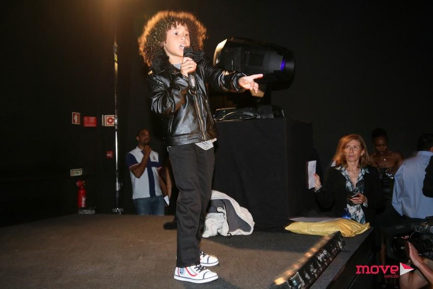 Isaac Carvalho deu show