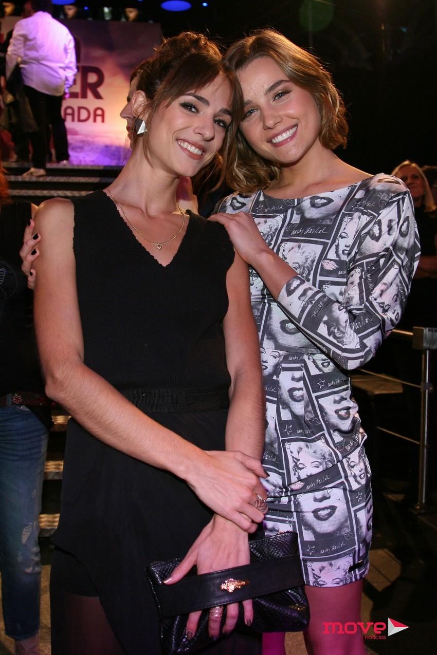 Maria Leite e Kelly Bailey