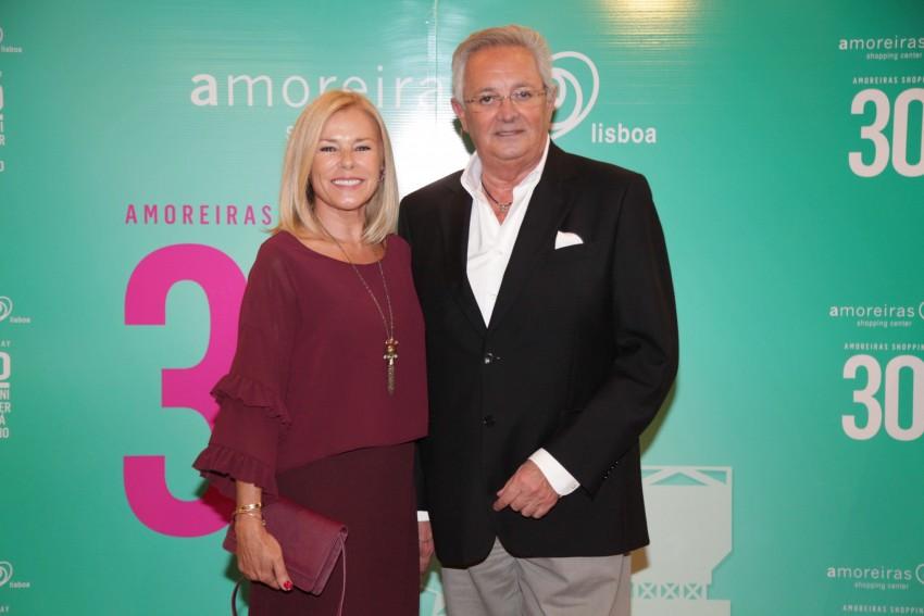 Maria José Galvão e Eládio Clímaco
