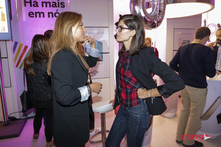 Ana Rita Clara e Sónia Balacó à conversa