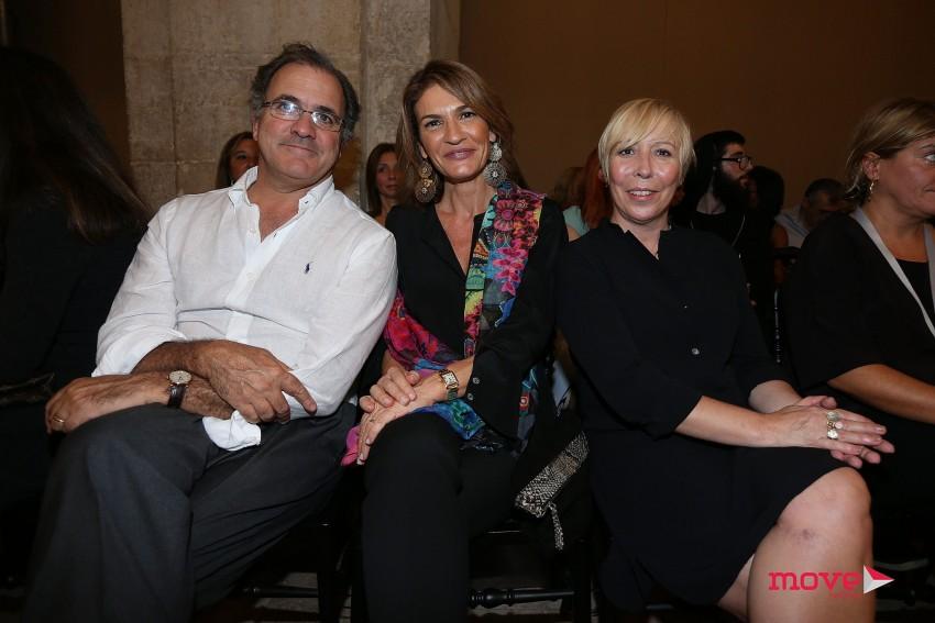 António e Patrícia Pires de Lima e Eduarda Abbondanza