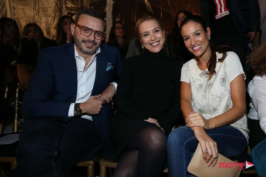 Sara e Tiago Girão com Ana Bravo