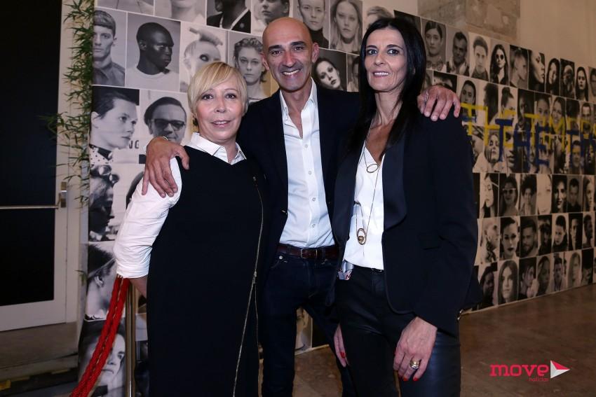 Eduarda Abbondanza com Miguel e Susana Vieira