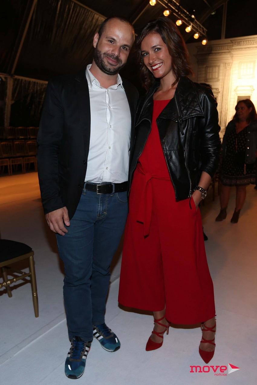 Mário Daniel e Cláudia Pedrosa