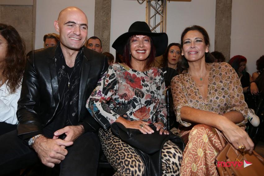 Nuno Reis, Ana Salazar e Vicky Fernandes