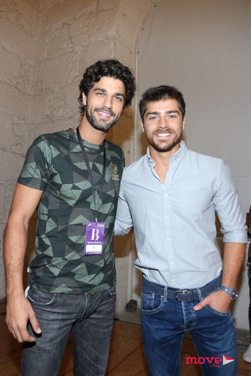 Bruno Cabrerizo e Lourenço Ortigão