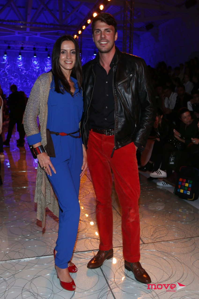 Gio Rodrigues e Ana Gomes