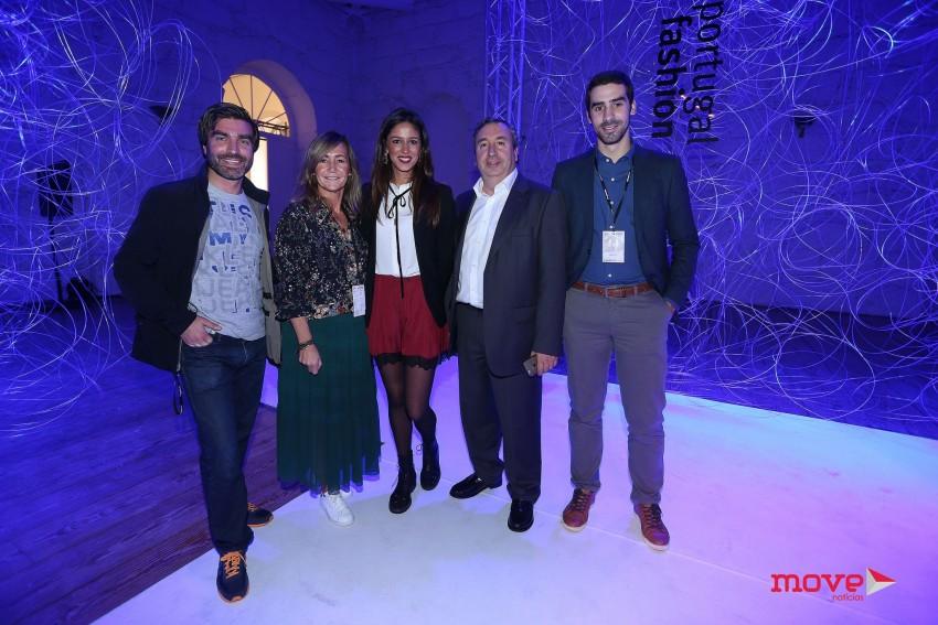 Rafael Rocha, Catarina Santos Cunha, Mónica Neto, Mário Vídal Genésio e André Costa