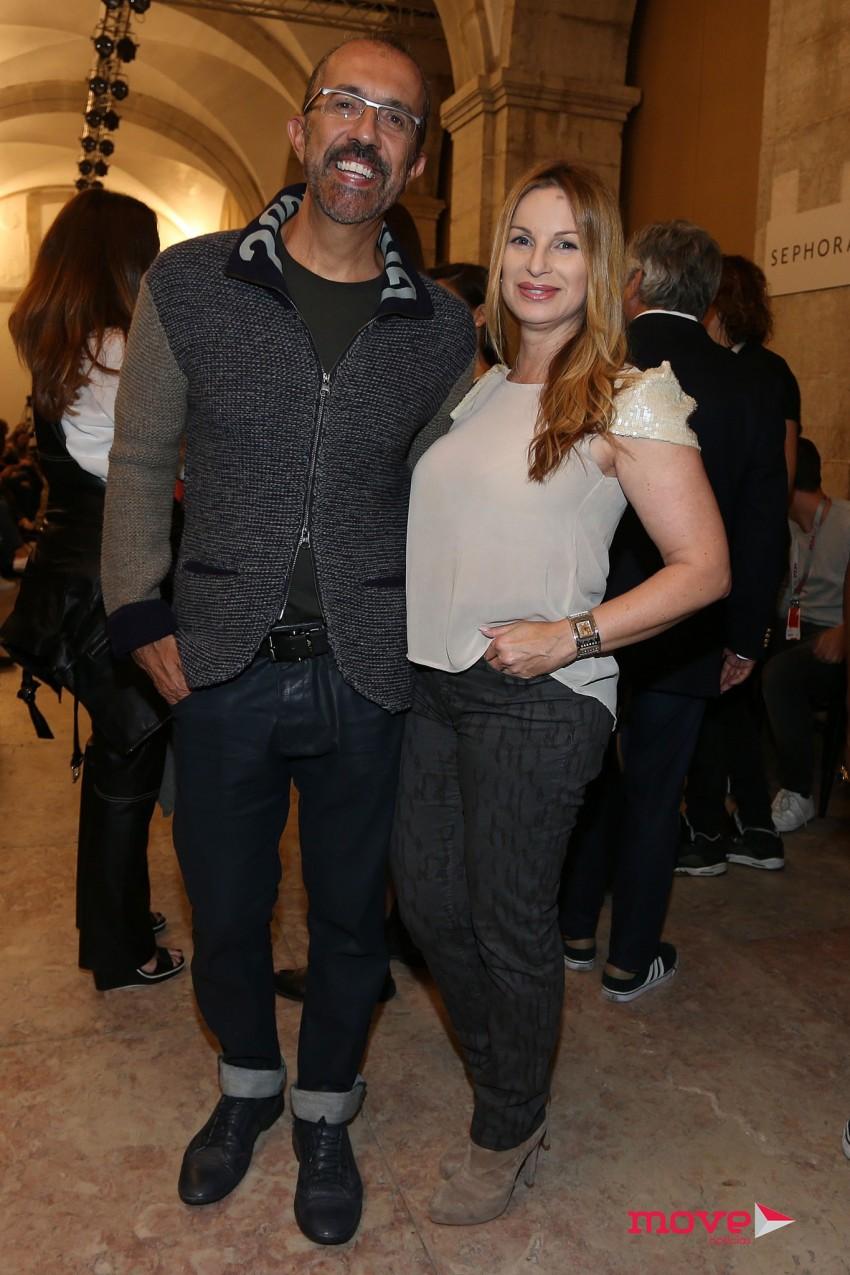 Rui Vilhena e a mulher, Denise