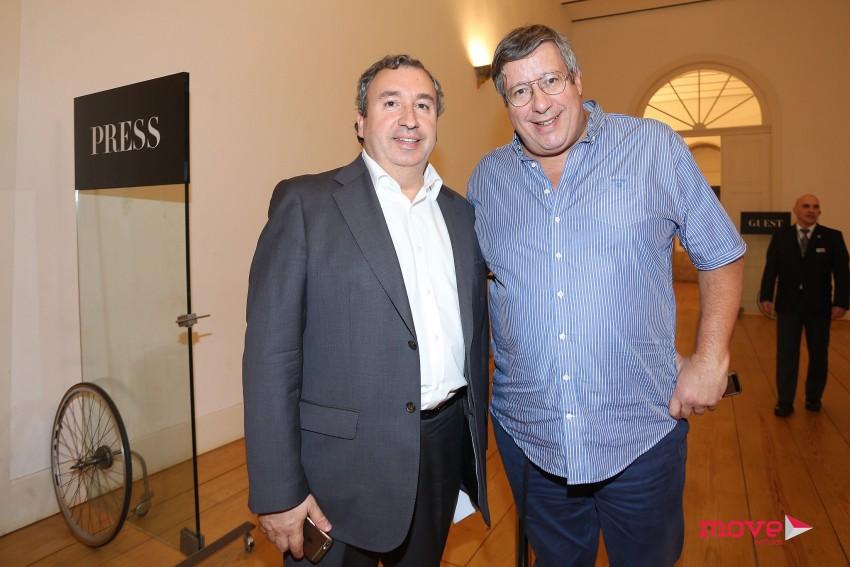 Mário Vídal Genésio e Manuel Serrão