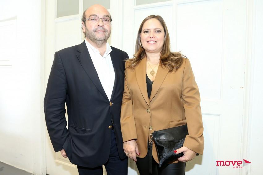 Hermínio Loureiro e Ana Luísa