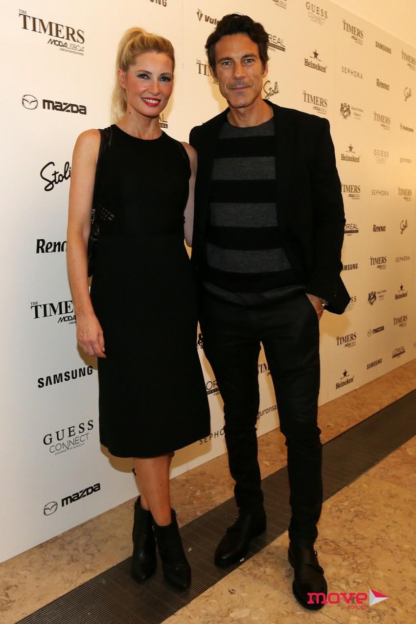 Paulo Pires e Astrid Werdnig