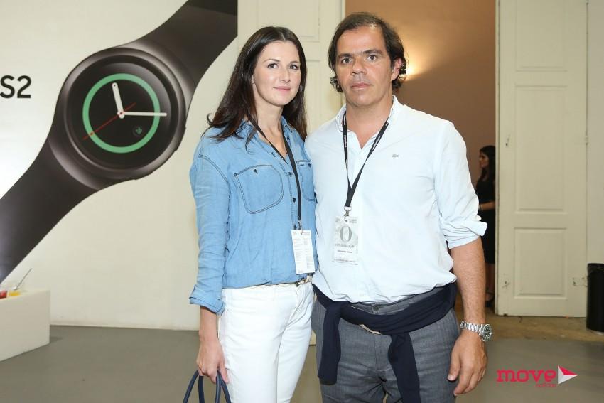 Presidente da ANJE, João Rafael Koehler e a namorada Victoria Nicolaenko