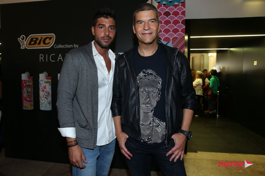 Humberto Barbosa e o filho, Tomás
