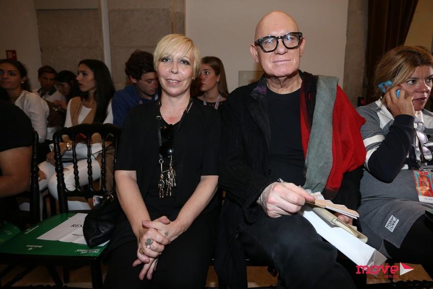 Eduarda Abbondanza e Manuel Reis