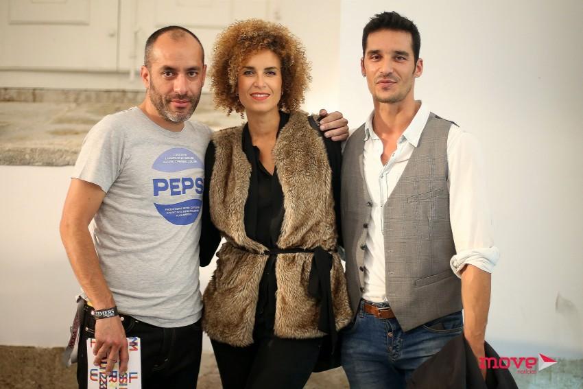 Rodrigo Soares reencontrou amigos do mundo da moda, como Nuno Largarto e Jô