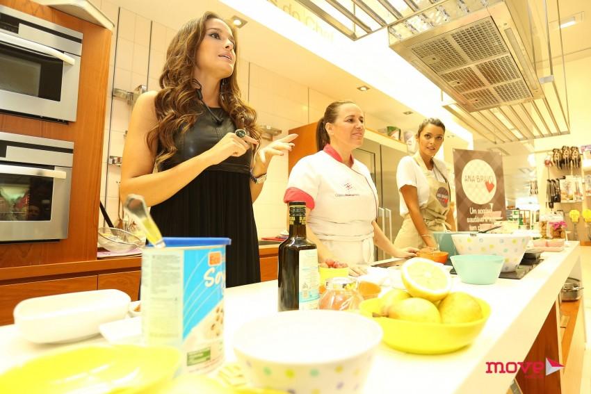 Ana Bravo mostrou receitas saudáveis