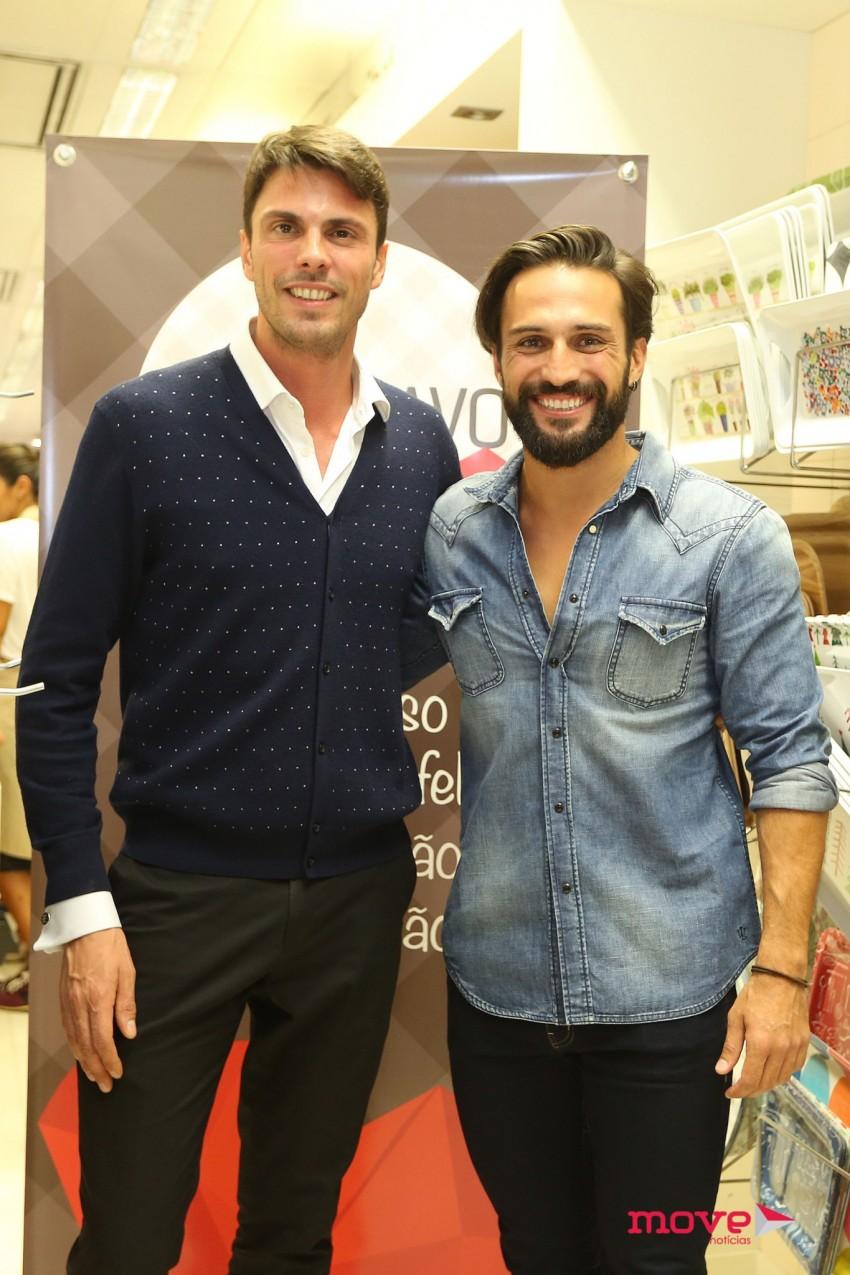 Gio Rodrigues e José Fidalgo