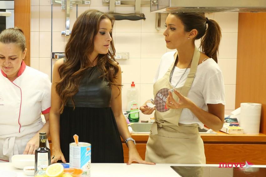 A nutricionista com Maria Cerqueira Gomes