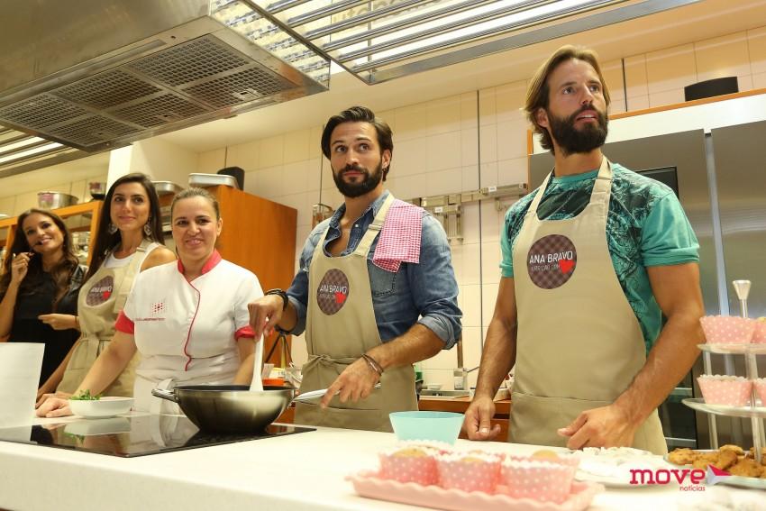 O showcooking foi acompanhado pela chef Cristina Manso Preto