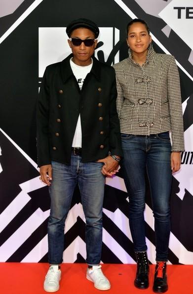 Pharrel Williams e Helen Lasichanh