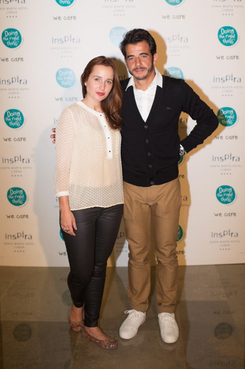 Frederico GIl e Carmen Lorenz