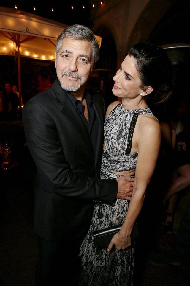 Geoge Clooney e Sandra Bullock