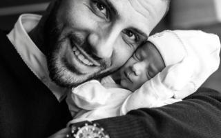 Ricardo Quaresma tornou-se pai de mais uma menina: Kauana.