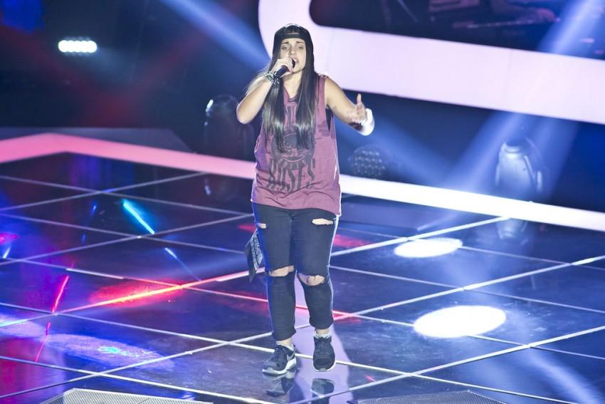 Ana Catarina Rodrigues tem 17 anos e é de Vila Verde. Canta desde sempre e escreve sobre tudo (raiva, amor). Começou a tocar guitarra há cerca de 5 meses. Os géneros musicais preferidos são o Reggae e o Rap, sendo que o Rap é o estilo com que mais se identifica. Escolheu Anselmo Ralph para mentor.