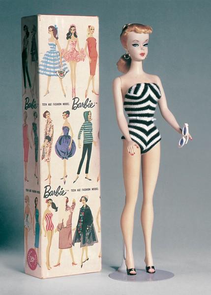 """Barbie. The icon"" Exhibit in Milan."