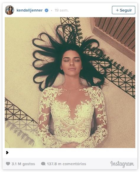 1º Kendall Jenner