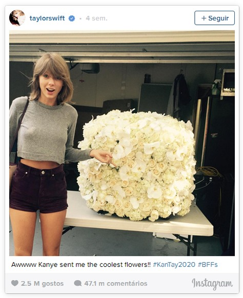 2º Taylor Swift