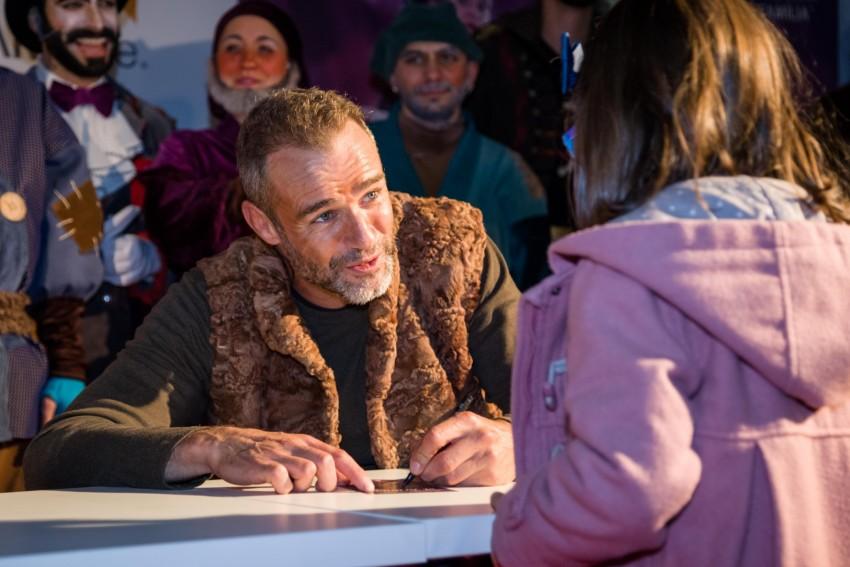 Afonso Vilela na sessão de autógrafos
