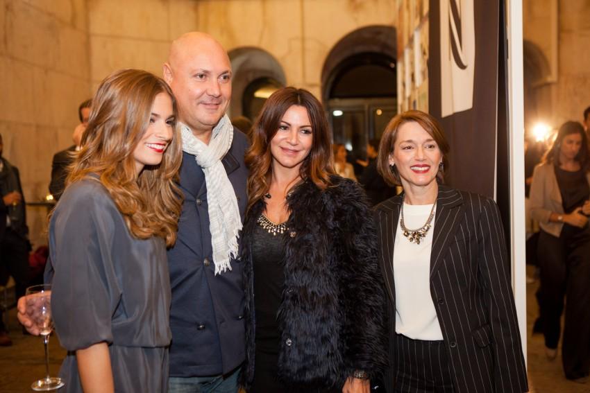 Benedita Pereira, Leonel Vieira, Silvia Rizzo e Manuela Couto