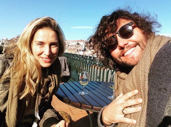 Andreia Teles e César Mourão