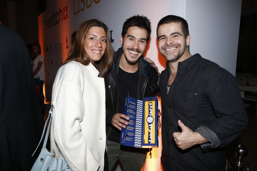Francisco Garcia, Sofia Sousa Guedes e Miguel Costa