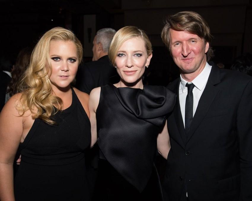 Amy Schumer, Cate Blanchett e Tom Hooper
