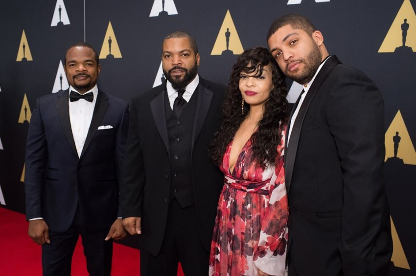 F. Gary Gray, Ice Cube, Kimberly Woodruff e O'Shea Jackson Jr.